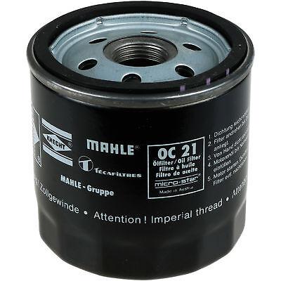 KNECHT OC 21OF Ölfilter Oelfilter Oil Filter 2x MAHLE