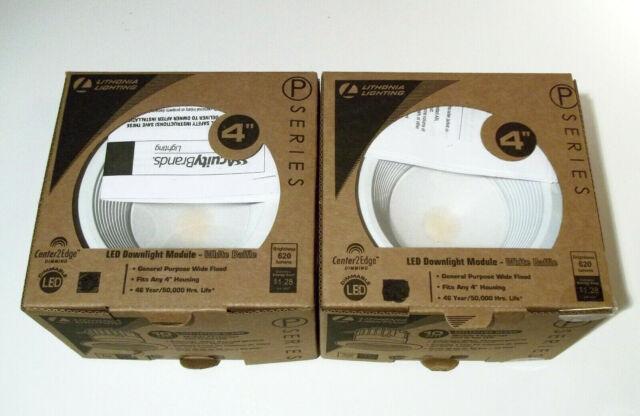 Lithonia Lighting 4BPMW LED M6 4 inch White LED Recessed Baffle Module 3000K