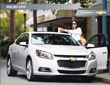 2015 Chevrolet Malibu Dealership Showroom 32-page Sales Brochure LS 1LT LTZ New