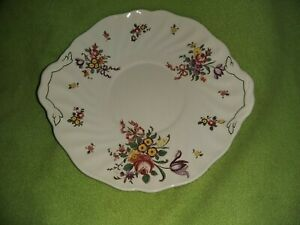 Vintage-Royal-Doulton-Oval-Serving-sandwich-cake-plate-26-cm-diameter