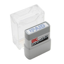 Officemate Pre Inked Self Inking Stamp For Office Or Business Paid