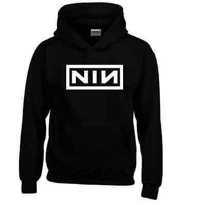 Nine Inch Nails Rock Band Music Logo Hesitation Marks Rock The Slip hoodie