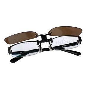 c7458dc182 Image is loading Unbranded-Anti-Glare-Clip-On-Myopia-Glasses-Flip-