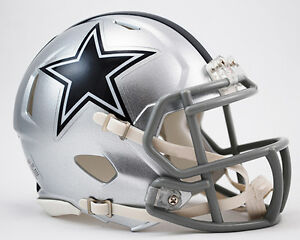 Image is loading DALLAS-COWBOYS-NFL-Riddell-SPEED-Mini-Football-Helmet 862f83cce66