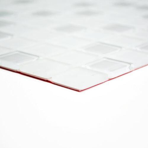 weisse Küchenrückwand Glasmosaik weiß matt Fliesenspiegel 200-4CM20 10Matten