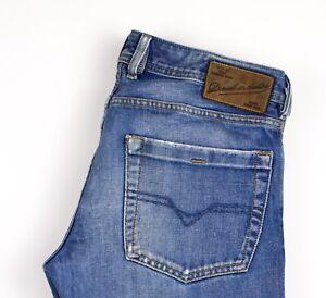 Diesel Hommes Zatiny Jeans Jambe Droite Taille W32 L32 AMZ1215