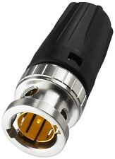 NBNC-75BFG7 - BNC-Stecker, 75 Ohm, für Kabel Ø 4,6mm