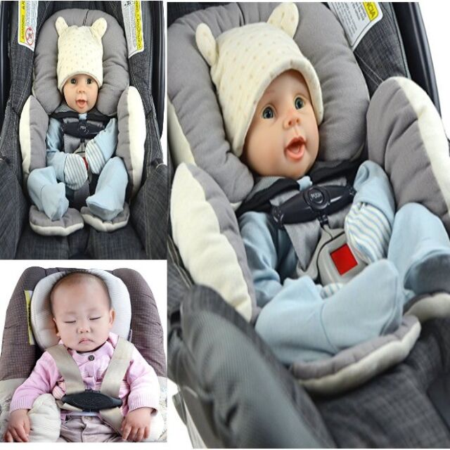 Safe Head Support Car Seat For Infant Baby Newborn Toddler Boy Carseat Stroller