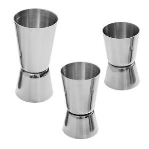Edelstahl-Cocktail-Messbecher-2-Fach-in-2cl-2-5cl-3cl-4cl-5cl-Schnaps-Dosierer