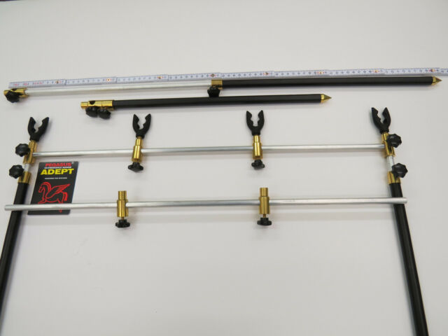 MAD Black Aluminium Adjustable Buzzer Bar Set 2rod 52267 Tele Buzzer Bar