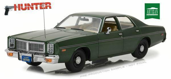 venta con alto descuento verdelight 1 18 escala 1977 Dodge Monaco-Hunter serie de TV TV TV 1984-91   BN   19045  ventas en linea