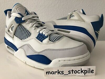 big sale ce993 79527 Air jordan 4 Military Blue
