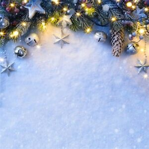 image is loading winter snow glitter 5x5ft merry christmas background photography - Merry Christmas Background