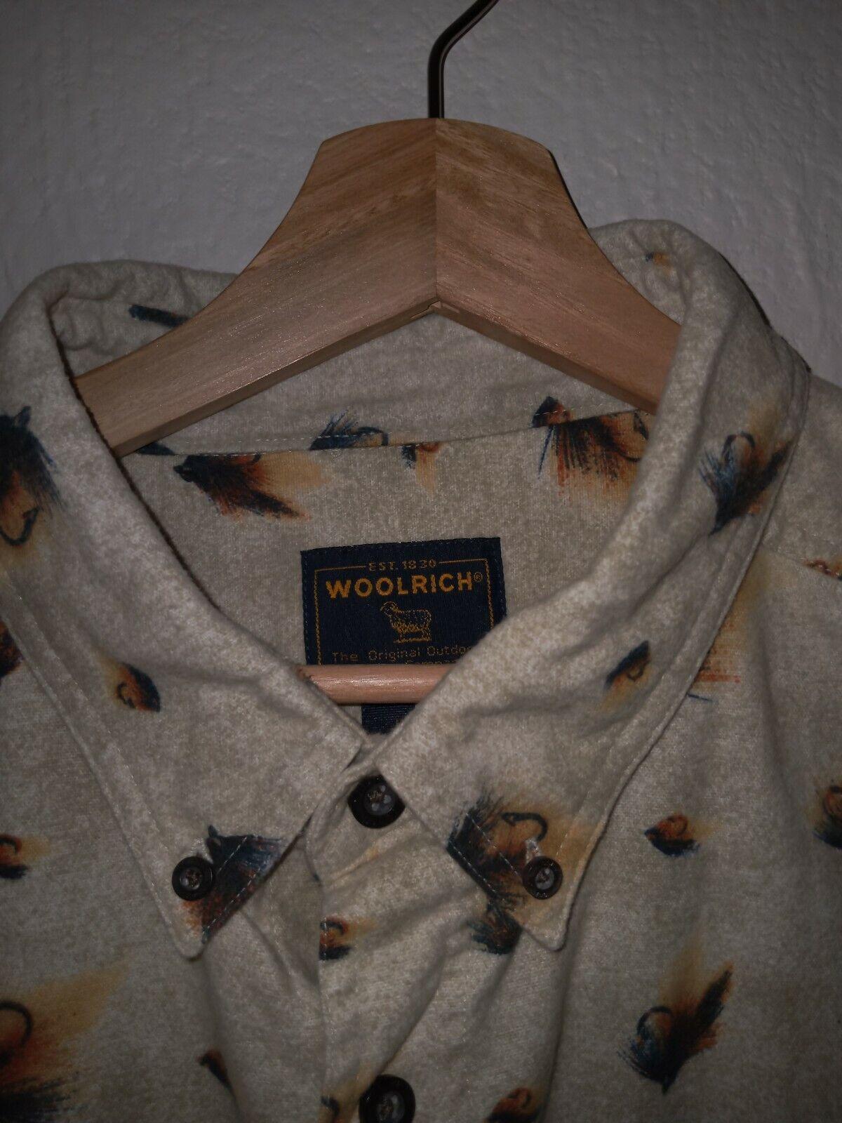 Authentic Vintage Mens Woolrich John Rich & Bros … - image 4