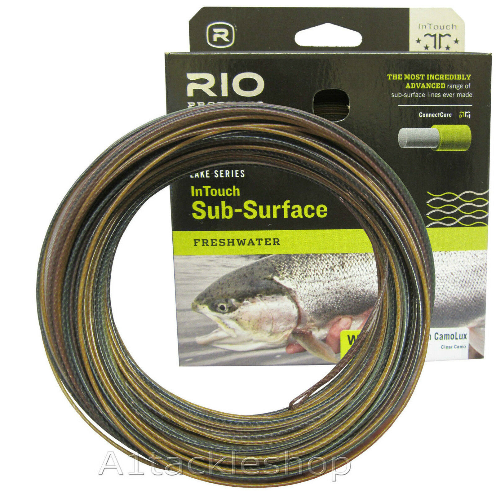 Rio In Touch Camolux Sub Surface Intermediate Trout Fly Fishing Line