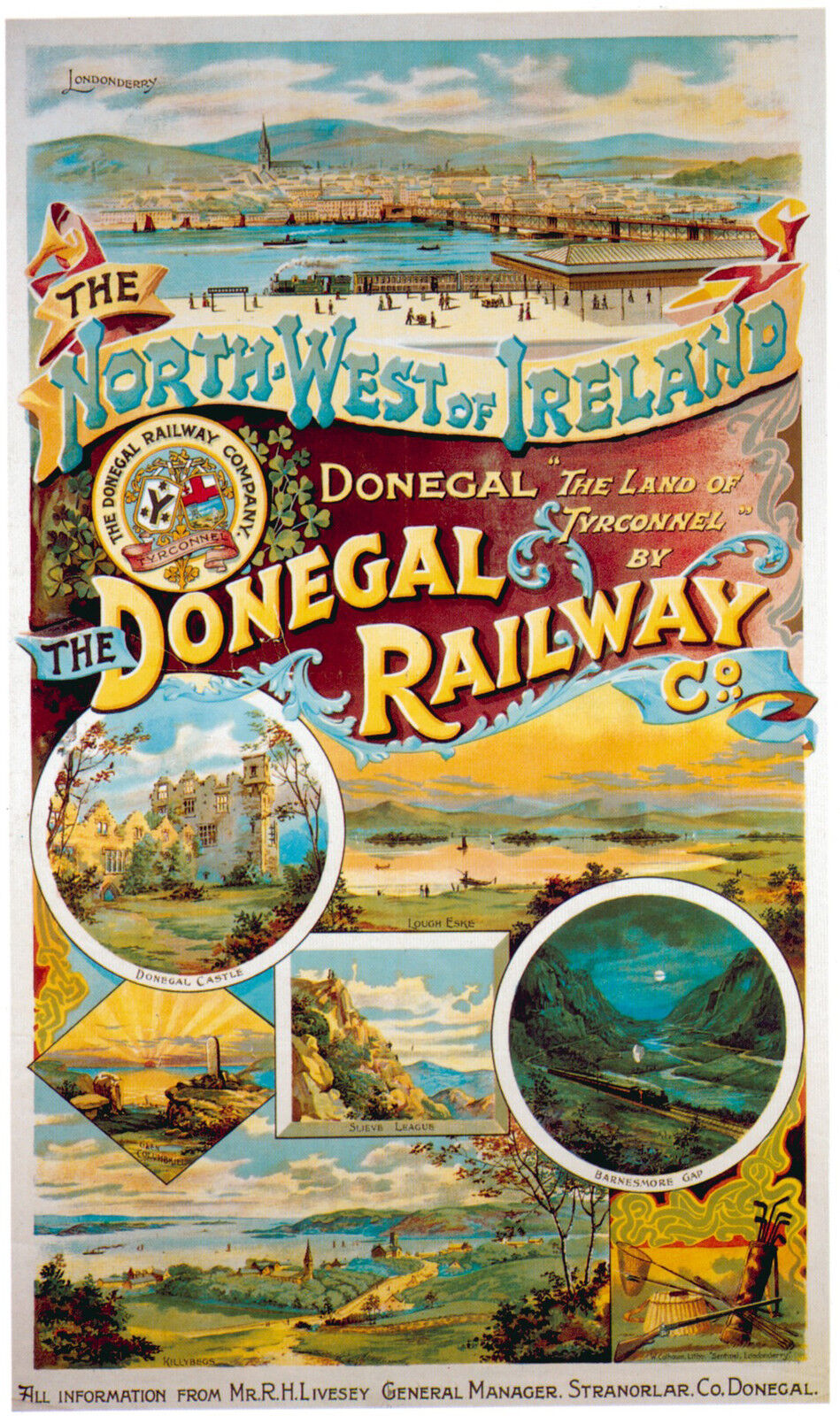 s l1600 - The County Donegal Railways