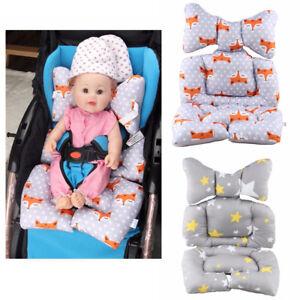 Baby Stroller Seat Liner Poussette Coussin Rembourrage Ramper Poussette Siège Voiture Tapis Couverture-afficher Le Titre D'origine Couleurs Fantaisie