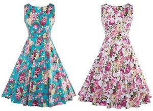 Spring Formal 1950s Dresses