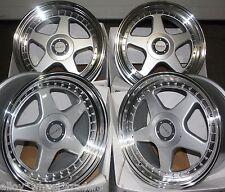 "18"" DR-F5 ALLOY WHEELS FITS 5X98 ALFA ROMEO 147 156 164 GT FIAT 500L DOBLO"