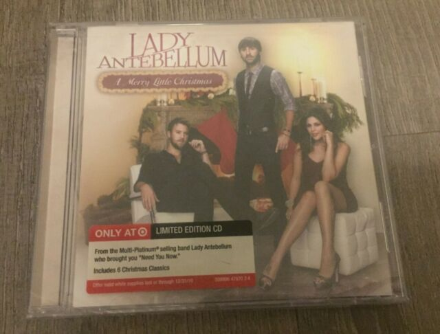 A Merry Little Christmas Lady Antebellum Music CD NEW SEALED Limited Edition | eBay