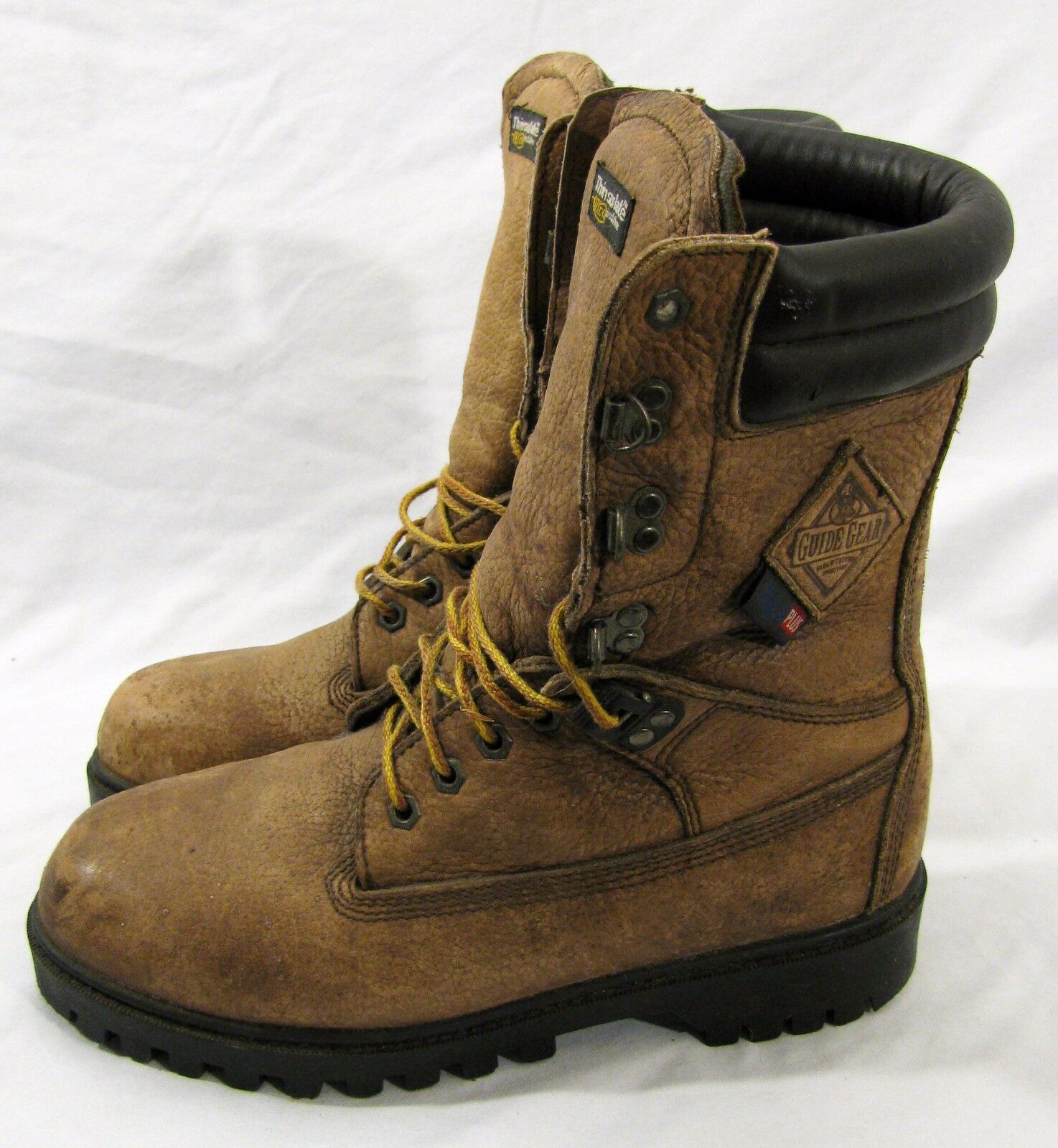 3966248fb60b ... Mens GUIDE GEAR Ultimate Ultimate Ultimate Aqua Plus Leather Boots with  THINSULATE ULTRA SIZE 9 20941b ...