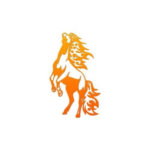 ebn1062 Stallion Flames Art Multiple Patterns /& Sizes Vinyl Decal Sticker