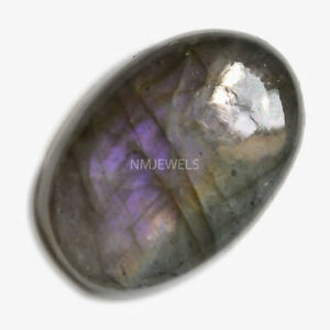 Cts-17-15-Natural-Purple-Fire-Labradorite-Cabochon-Oval-Cab-Loose-Gemstones