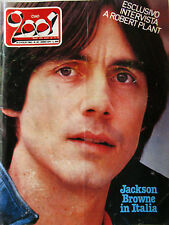 CIAO 2001 30 1982 Jackson Browne Robert Plant Mike Oldfield Bob Marley Police