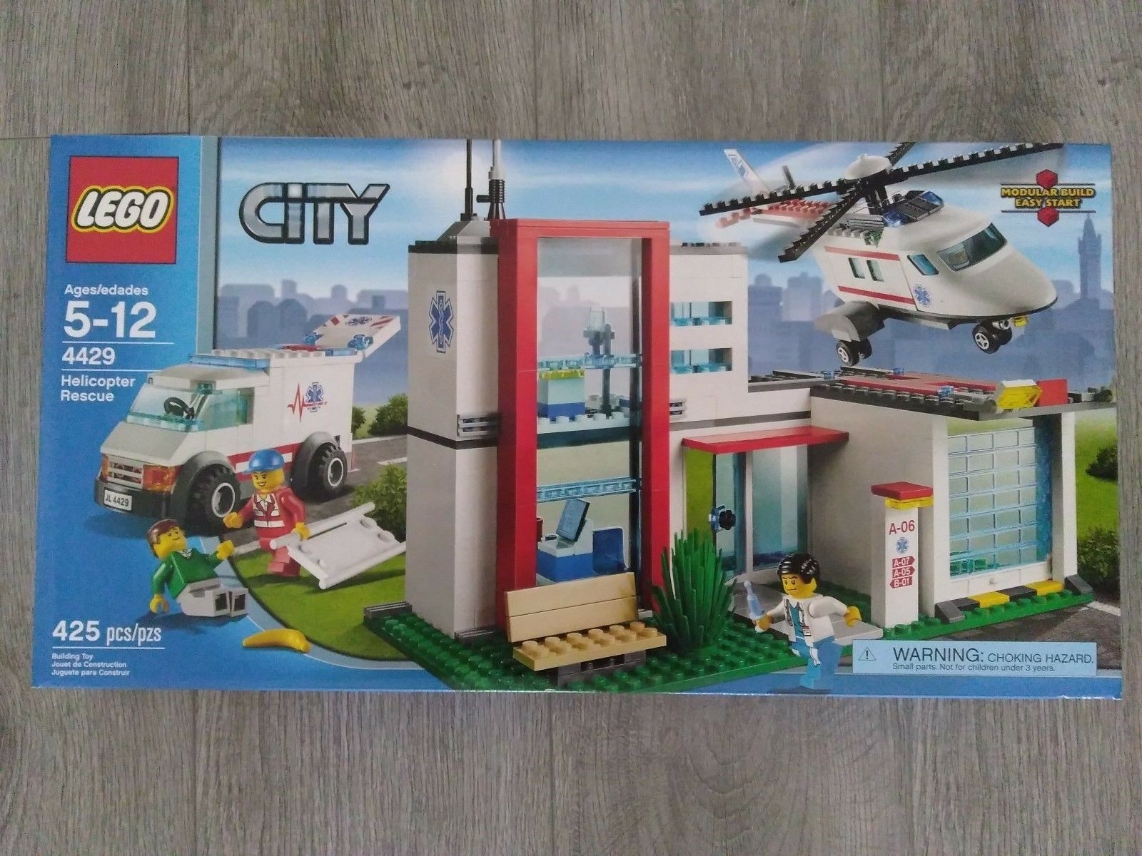 Lego Helicopter Rescue 4429 Brand New