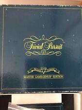 Vintage Trivial pursuit master game Genus Edition 1987 000646
