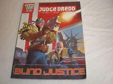 Judge dredd Blind justice graphic novel tpb