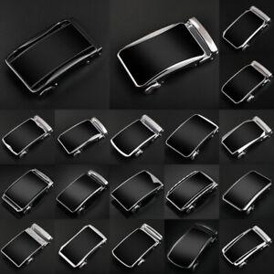 New-Men-Luxury-Automatic-Buckle-Belt-Leather-Belts-Waist-Strap-Ratchet-Waistband