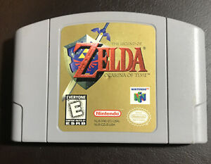 N64-The-Legend-of-Zelda-Ocarina-of-Time-Game-Cart-Authentic-Cleaned-Tested