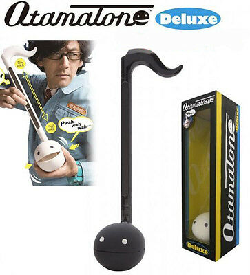 Otamatone Deluxe Melody Electronic Musical Instrument from Maywa Denki (Black)