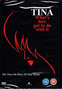 TINA WHATS LOVE GOT TO DO WITH IT DVD REGION4 ANGELA BASSETT  TINA TURNER WHAT'S