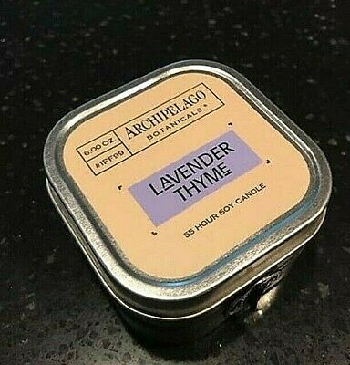 Archipelago Lavender Thyme Candle in Box