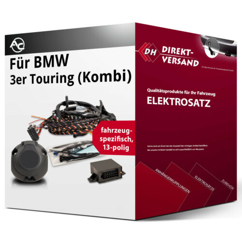 BMW 3er Touring Typ E36 Elektrosatz 13polig spezifisch Neupreis Esatz inkl EBA