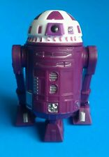Star Wars 2015 Disney BAD Build a Droid Factory Purple White R9 Baseball Cap