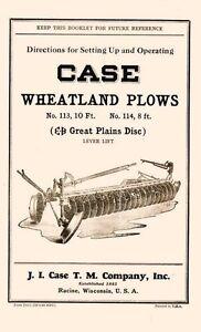 Case-Wheatland-Plows-113-10ft-114-8ft-Operators-Manual