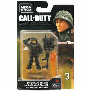 Mega Bloks Construx Call Of Duty Spécialistes Série 3-incendiaire Soldat Fig
