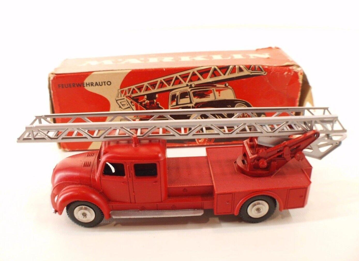 Märklin 8023 camion  Magirus Deutz feuerwehrauto pompiers en boite Mint In Box  design simple et généreux