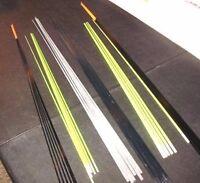 36 Medium Light Perch Solid Fiberglass Ice Fishing Rod Blank Wholesale Lot