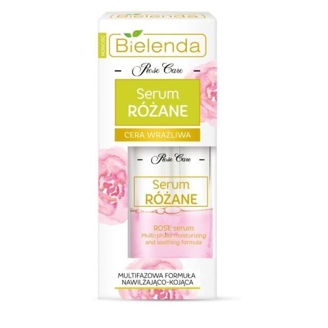 Bielenda Serum Rose Care Multi-Phase Formula Moisturizing Soothing 30ml