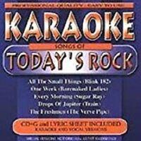 Karaoke - Songs Of Todays Rock - Factory Sealed Cd