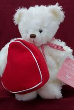 """Valentine Plush Hallmark """"From My Heart"""" Bear With Zipper Pouch Chocolate Kisses"""