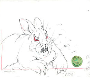 Watership-Down-1978-Production-Animation-Cel-Drawing-with-LJE-COA-004-15