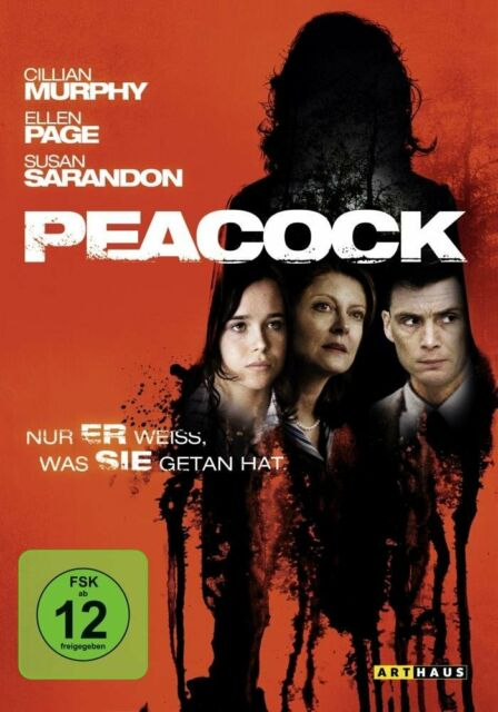 Peacock ( Thriller ) mit Cillian Murphy, Ellen Page, Susan Sarandon, Josh Lucas