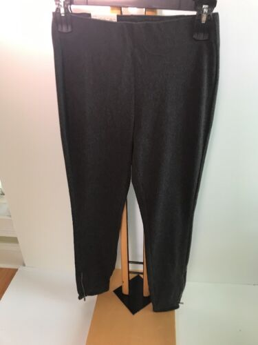 Utopia by Hue Felted Denim Skimmer Size XL Large Black MSRP $36.00 New Leggings