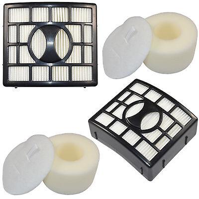 2x HQRP Filter Kits HEPA+ Foam/& Felt for Shark Rotator NV800 NV801 NV802 NV803