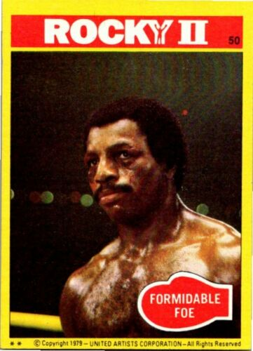 1979 TOPPS ROCKY II PICK CHOOSE YOUR CARDS